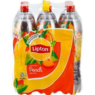 Lipton Eistee Pfirsich 1,5 Liter, 6er Pack - Bild 1