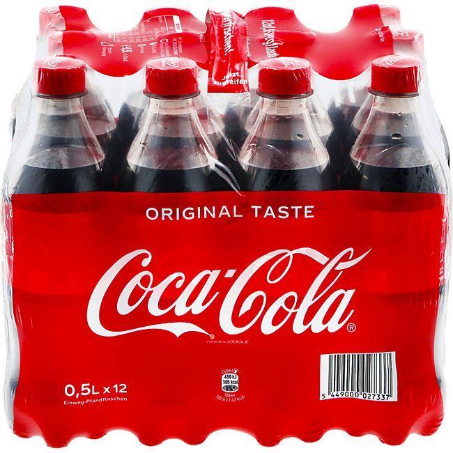 Coca Cola 0 5 Liter 12er Pack Online Kaufen Bei Netto