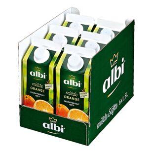 albi Milder Orangensaft 1,5 Liter, 6er Pack - Bild 1