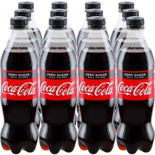 Coca-Cola Zero 0,5 Liter, 12er Pack - Bild 1