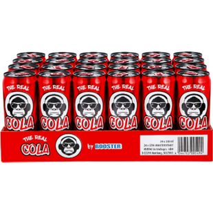 The Real Cola by Booster 0,33 Liter, 24er Pack - Bild 1