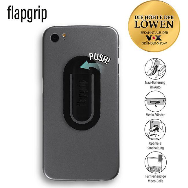 Flapgrip Handyhalterung schwarz - Bild 1