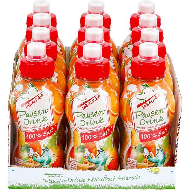 Tabaluga Mehrfruchtsaft 0,3 Liter, 12er Pack - Bild 1