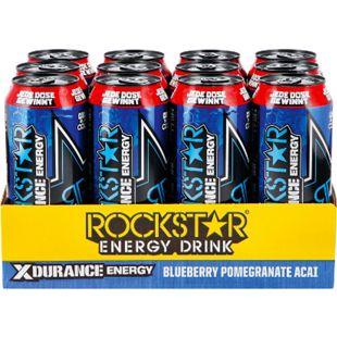 Rockstar Energy Drink Xdurance 0,5 Liter Dose, 12er Pack - Bild 1