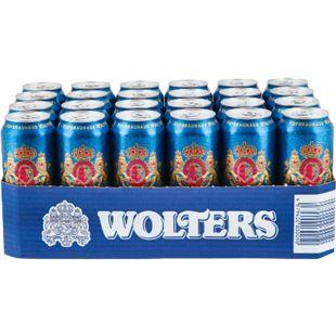 Wolters Pilsener 4,9 % vol 0,5 Liter Dose, 24er Pack - Bild 1