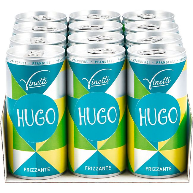 Vinetti Hugo 6,9 % vol 200 ml, 12er Pack - Bild 1