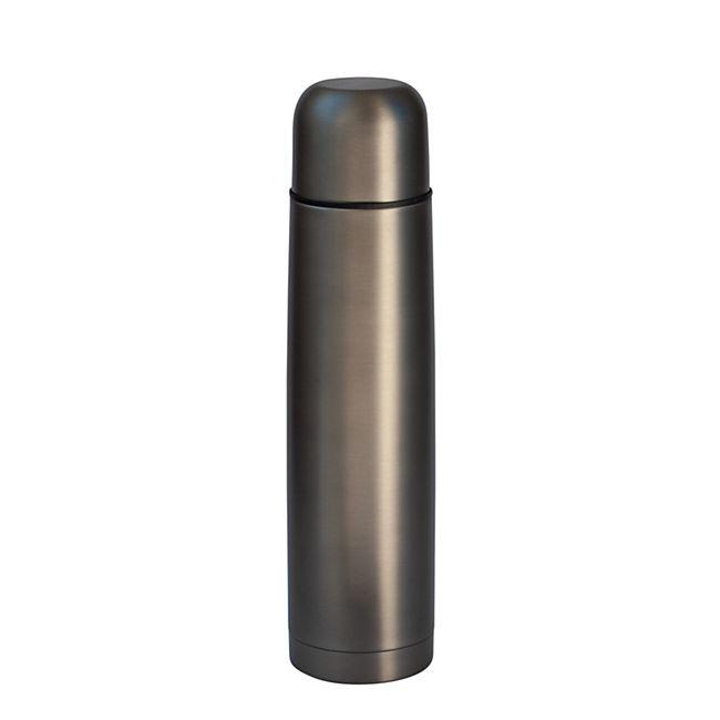 Isolierflasche 1L matt-grau - Bild 1