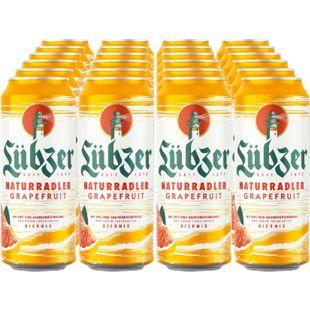Lübzer Grapefruit 2,0 % vol 0,5 Liter Dose, 24er Pack - Bild 1
