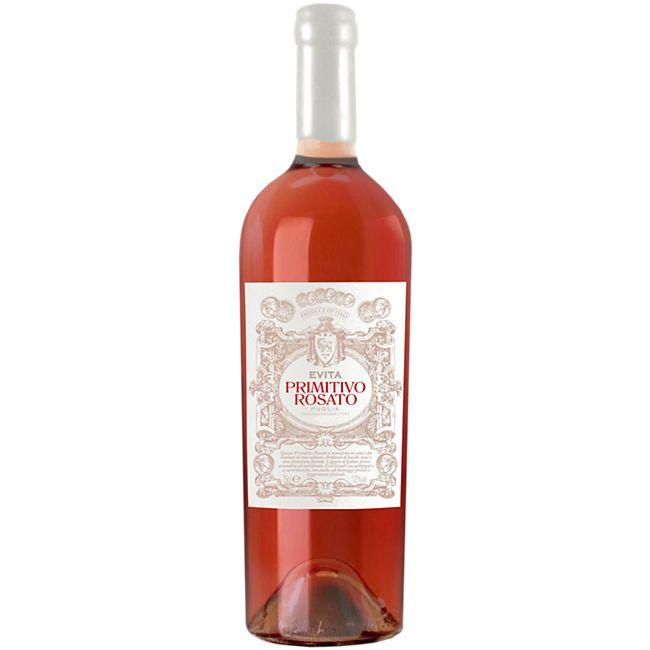 Evita Primitivo rosato IGT Puglia 12,0 % vol 0,75 Liter - Bild 1