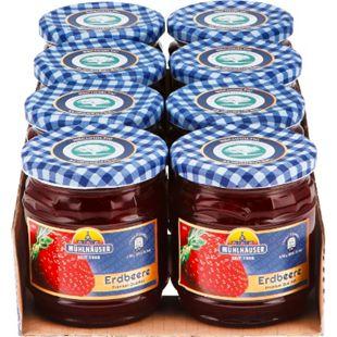 Mühlhäuser Extra Konfitüre Erdbeer 450 g, 8er Pack - Bild 1