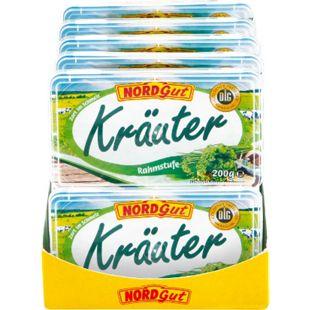 Nordgut Schmelzkäsezubereitung Kräuter 200 g, 10er Pack - Bild 1
