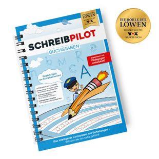 Schreibpilot Lernheft Buchstaben - inkl. Bleistift und Radiergummi - Bild 1
