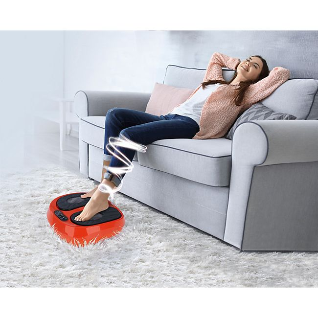 MAXXMEE Vibrationsgerät Training & Massage 24V schwarz/orange - Bild 1