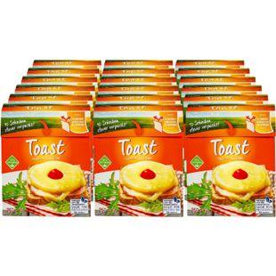 Toast Schmelzkäse Scheiben 250 g, 18er Pack - Bild 1