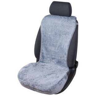 PKW Sitzauflage aus Lammfell Vogue grau 16-18mm Fellhöhe - Bild 1