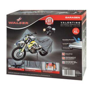 Motorradgarage Enduro Größe XL PVC - 255 x 110 x 135 cm - Bild 1