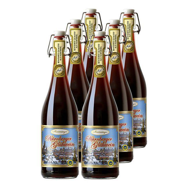 Meistersinger Nürnberger Glühwein g.g.A. 10,0% vol 6 x 0,75 Liter - Bild 1