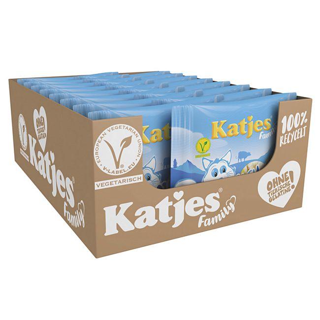 Katjes Fruchtgummi Milchkater 300 g, 16er Pack - Bild 1
