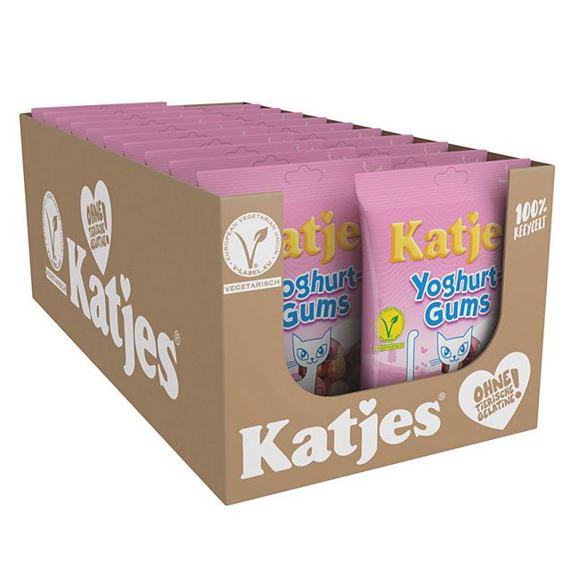 Katjes Yoghurt-Gums 200 g, 20er Pack - Bild 1