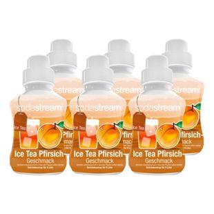 Sodastream Sirup Ice Tea Pfirsich 0,375 Liter, 6er Pack - Bild 1