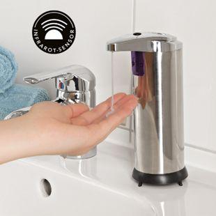 MAXXMEE Hygiene-Seifenspender Sensor 6V chromfarben - Bild 1