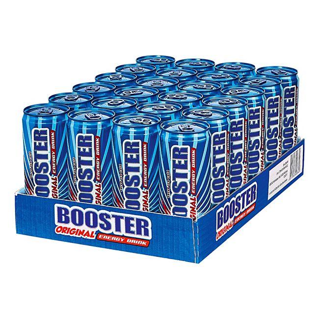 Booster Energy Drink Regular 0,33 Liter Dose, 24er Pack - Bild 1
