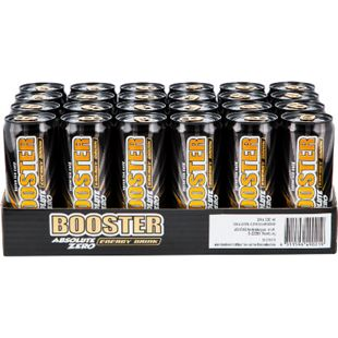 Booster Energy Drink Zero 0,33 Liter Dose, 24er Pack - Bild 1