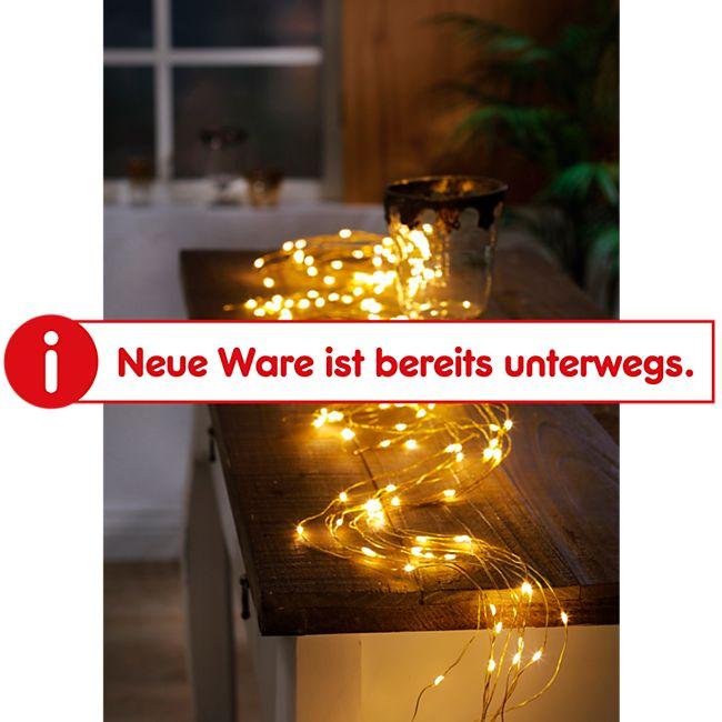 Dekor LED Lichterschweif warmweiß 8-Modifunktionen - Bild 1