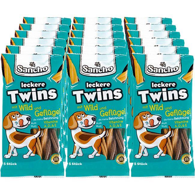 Sancho Hundesnack Twins 100 g, 18er Pack - Bild 1