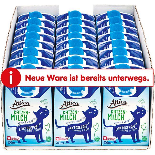 Attica Katzenmilch 200 ml, 27er Pack - Bild 1