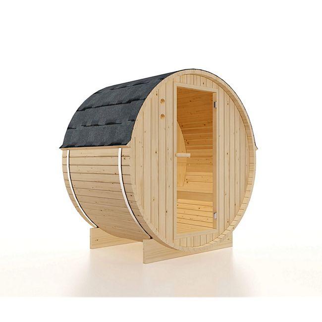 Home Deluxe Outdoor Saunafass Lathi M - 2 bis 3 Personen / 3,6 kW - Bild 1