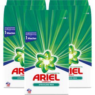 Ariel Vollwaschmittel Pulver 19 Waschladungen, 5er Pack - Bild 1