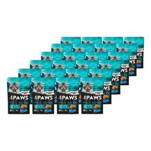 4 PAWS Katzennahrung Wildlachs Dill 85 g, 24er Pack - Bild 1