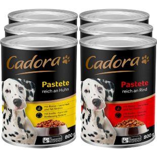 Cadora Hundenahrung 800 g, verschiedene Sorten, 6er Pack - Bild 1