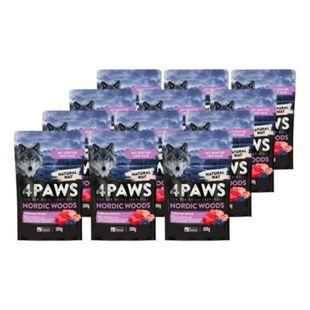 4 PAWS Hundesnack Rentier, Kalb, Huhn 100 g, 12er Pack - Bild 1