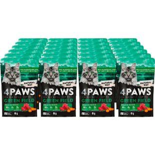 4 PAWS Katzennahrung Lamm Karotte 85 g, 24er Pack - Bild 1