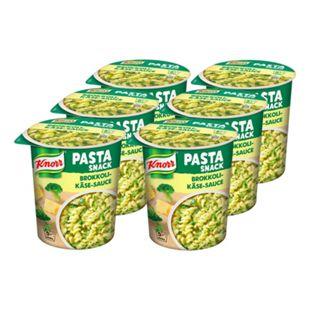 Knorr Snack Becher Pasta in Brokkoli-Käse-Sauce 69 g, 8er Pack - Bild 1