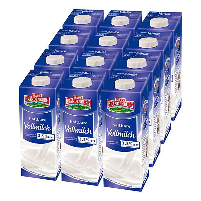 Mark Brandenburg H-Milch 3,5% 1 Liter, 12er Pack - Bild 1