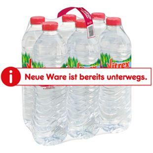 Vitrex Wasser mit Kirschgeschmack 1,5 Liter, 6er Pack - Bild 1