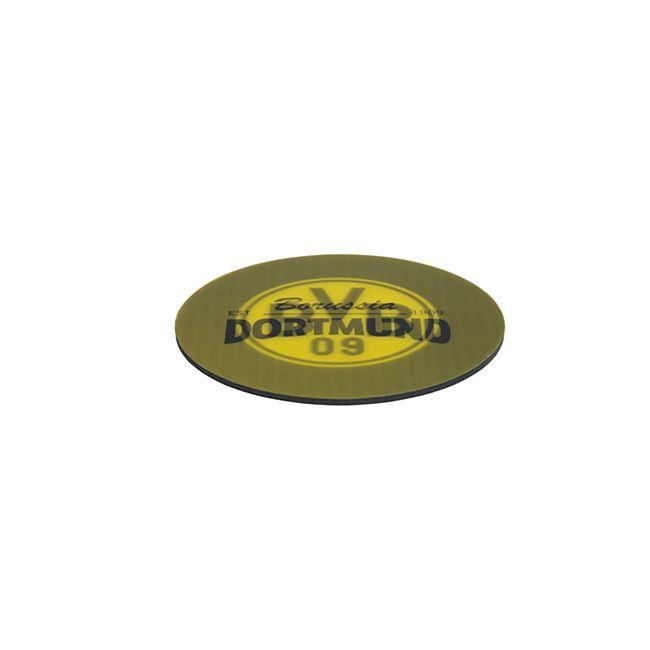 BVB Untersetzer Wechselbild 5er-Set gelb/schwarz mit Logo - Bild 1