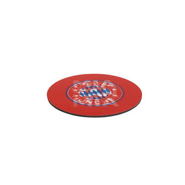 FCB Untersetzer Wechselbild 5er-Set rot/weiß mit Logo - Bild 1