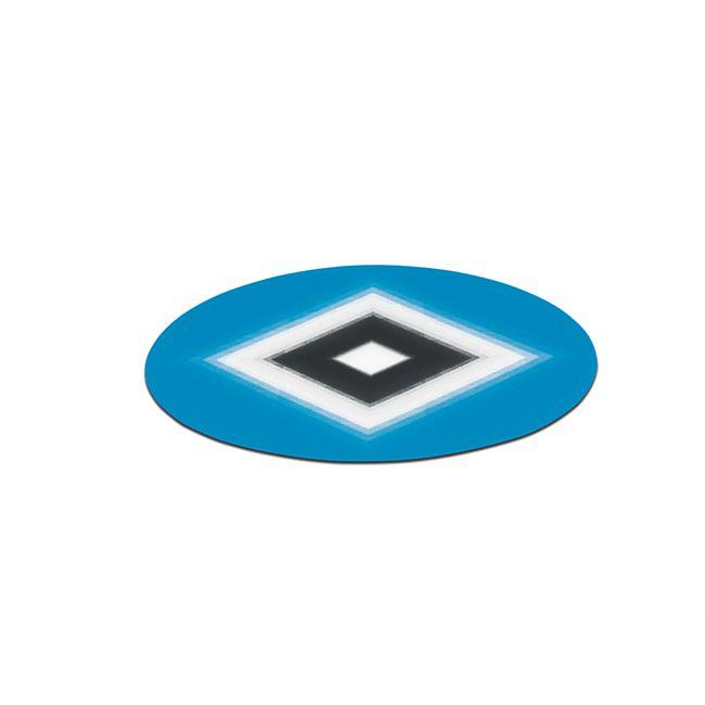 HSV Aufkleber Wechselbild 8,5cm blau/weiß/schwarz - Bild 1