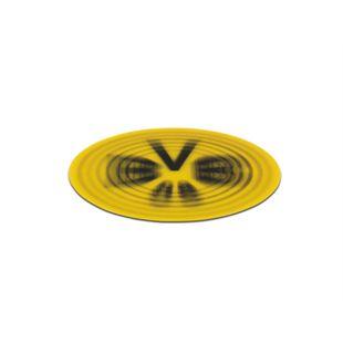 BVB Aufkleber 3D 8,5cm gelb/schwarz - Bild 1