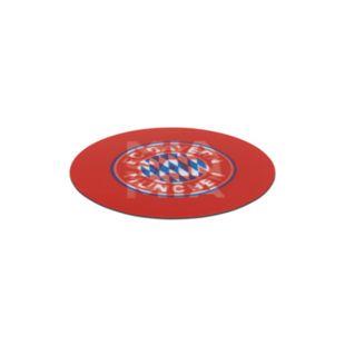 FCB Aufkleber 3D 8,5cm rot/weiß - Bild 1