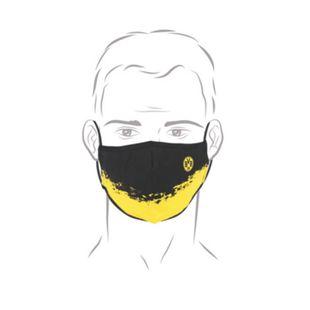 BVB Gesichtsmaske gelb/schwarz - Bild 1