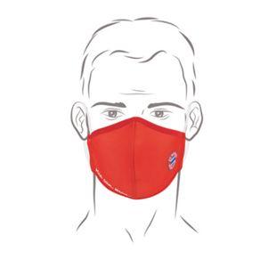 FCB Gesichtsmaske rot/weiß - Bild 1