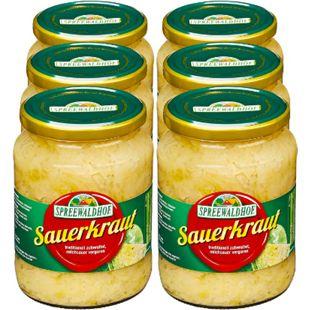 Spreewaldhof Sauerkraut 650 g, 6er Pack - Bild 1