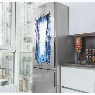 Kühlschranksticker 3D 100x50cm versch. Motive - Bild 1