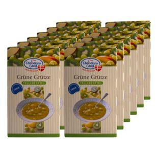 Christians Grod Grütze Kiwi-Stachelbeere 500 g, 12er Pack - Bild 1
