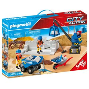 Playmobil Baustelle - Bild 1